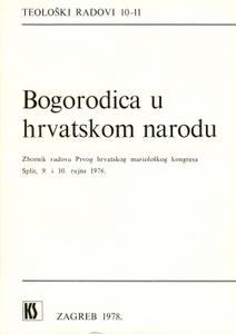 Bogorodica u hrvatskom narodu